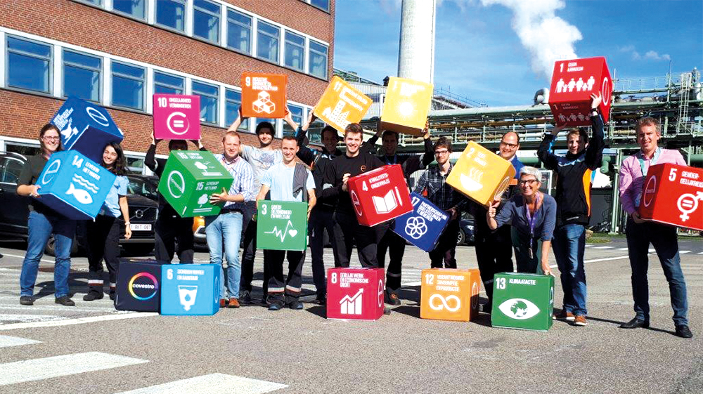 Zitkubussen met Sustainable Development Goals