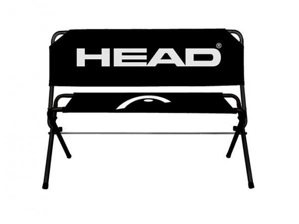 De Easy Bench, een opvouwbare zitbank met logo Head