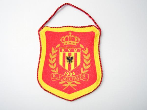 clubwimpel voor voetbalclub KV Mechelen