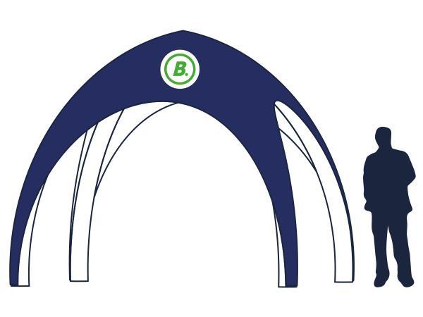 Iglo tent 4x4 m