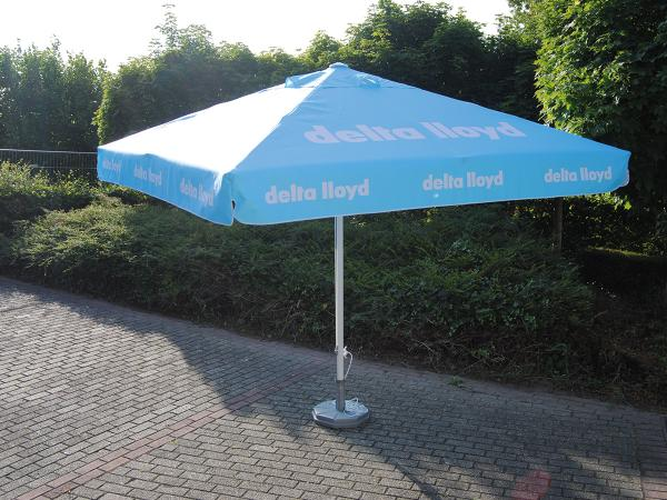 sunshade printed with logo