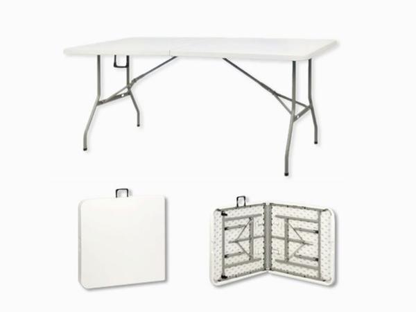 Folding table, compact and easy to take away