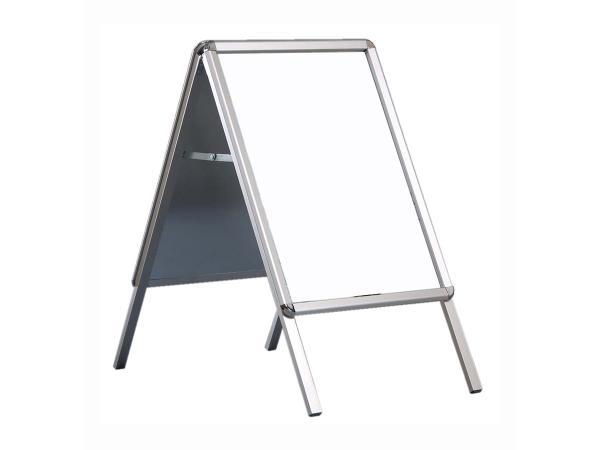 Stoepbord A frame, een dubbelzijdig reclamebord, ideaal voor professionele presentatie van informatie, posters