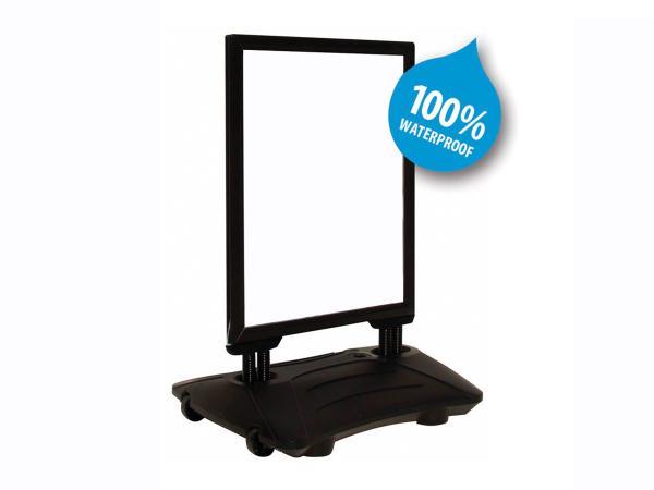 Stoepbord Flex Black