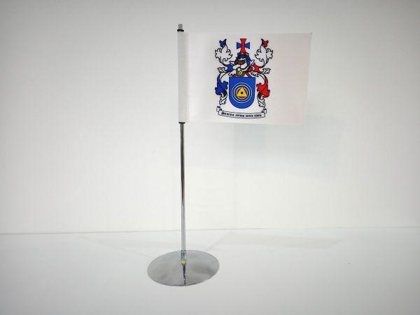 Tafelvlag standup met rechte vlag