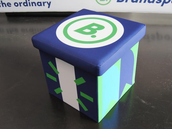 Foldable Cube seat Brandspot