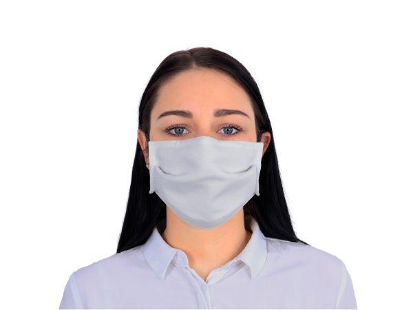 witte textiel mondmaskers wasbaar herbruikbaar