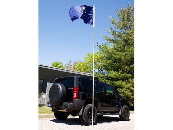 Telescopische vlaggenmast