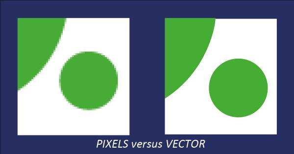 pixels versus vector